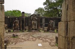 Karta so skhemoi raspolozheniia dostoprimechatelnostei na territorii arkheologicheskogo kompleksa Polonnaruva Otchet ob ekskursii Esli vy ne byli v Angkor-Vate v Kambodzhe ili v Sukkhotae v Tailande sovetuiu posmotret