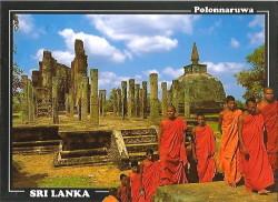 Kak doshla nasha otkrytka so Shri-Lanki. Zoopark v Pinnavala i skala Mihintale, analogichnaja Sigirii .