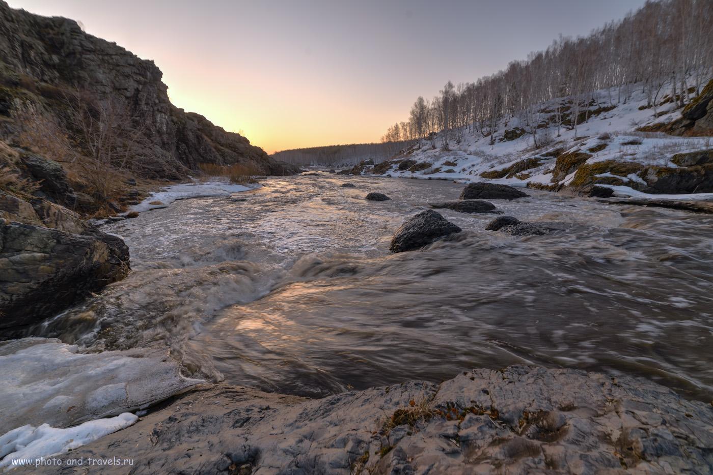 36. Бурная река Исеть в Бекленищева. Как я ездил фотографировать порог Ревун.