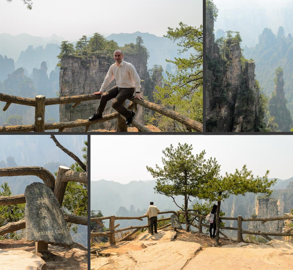 23. Ограждение на смотровой площадке в национальном парке Чжанцзяцзе в Китае. Сравните с тем, что вы увидите в Оленьих ручьях.