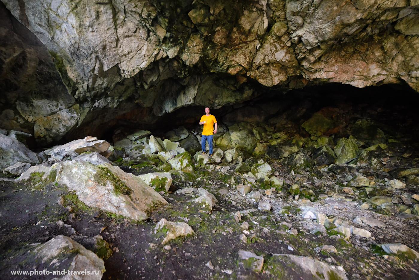 30. Грот в Большой Аракаевской пещере. Как её найти самостоятельно. Снято на Nikon D610 + Samyang 14mm f/2.8. Освещение от 2-х вспышек. Камера на штативе.