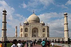 Kak my ezdili smotret' Tadzh-Mahal v Agru.