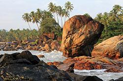 Otzyv ob otdykhe na iuge Goa Velikolepnye vidy pliazha Palolem-bich Progulka k ostrovu Green Island Pokhod na pliazh Kolomb i na dambu CHapoli Vidy bezliudnogo pliazha Patnem.