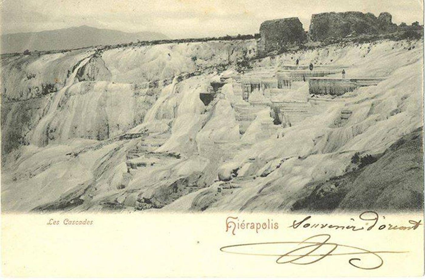 28 Так выглядели террасы Памуккале в начале XX века (по другим данным – в начале XIX века).