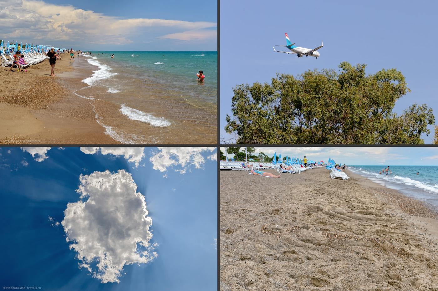 Фотография 5. Отдых на пляже Лара в Анталии. Отзывы туристов из России о поездке в Турцию самостоятельно.