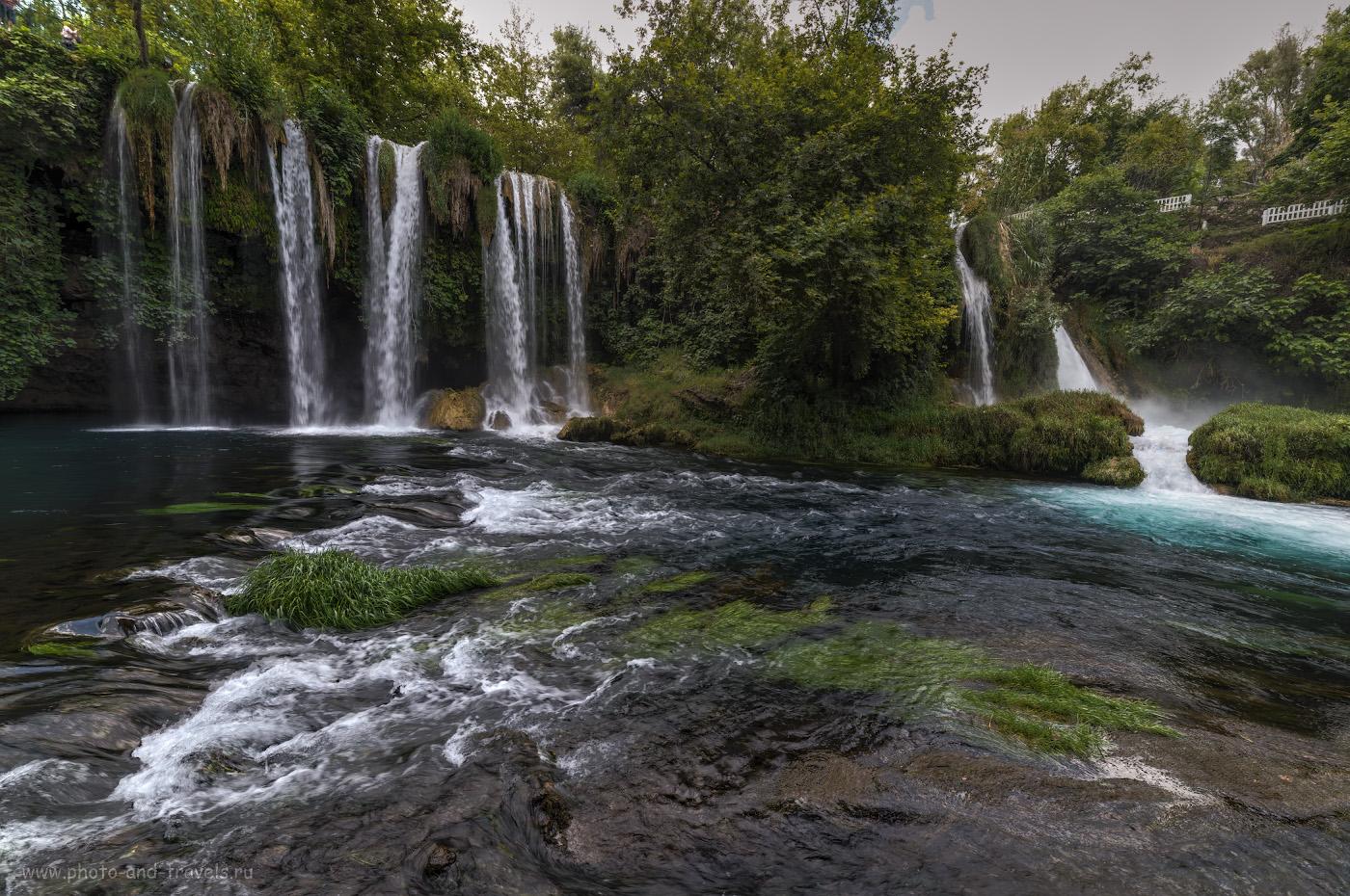 Фотография 2. Водопад Верхний Дюден (Düden Şelalesi) в северной части Анталии. Интересные места, что можно посетить во время отдыха в Турции. Отчеты туристов. 1/13, , 8.0, 50, 14.