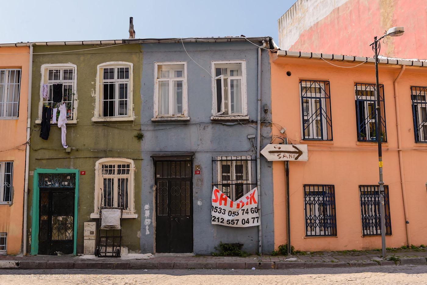 Фото 9. Старинные улочки Стамбула. 1/500, -0.67, 8.0, 200, 36.