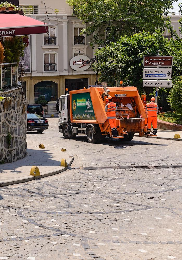 Фотография 19. Улочка у стен Голубой мечети в Стамбуле. 1/400, 8.0, 200, 40.