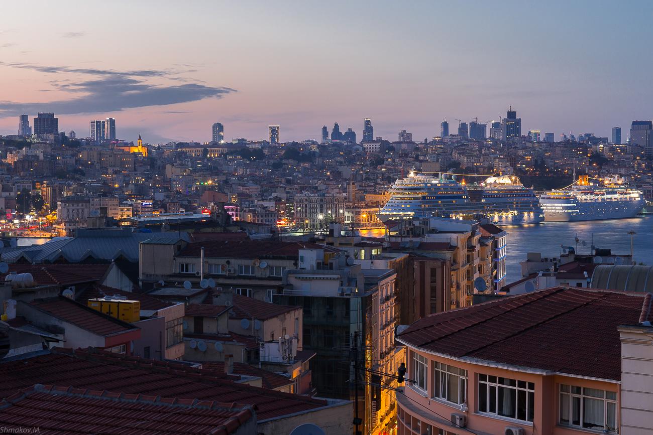 Вечерний Стамбул. Отзывы туристов.