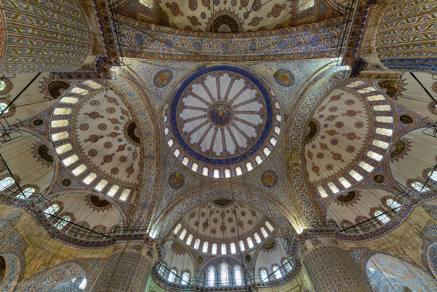Фотография 6. Купол Голубой мечети в Стамбуле. Отзывы об отдыхе в Турции. 1/20, 8.0, 2500, 14.