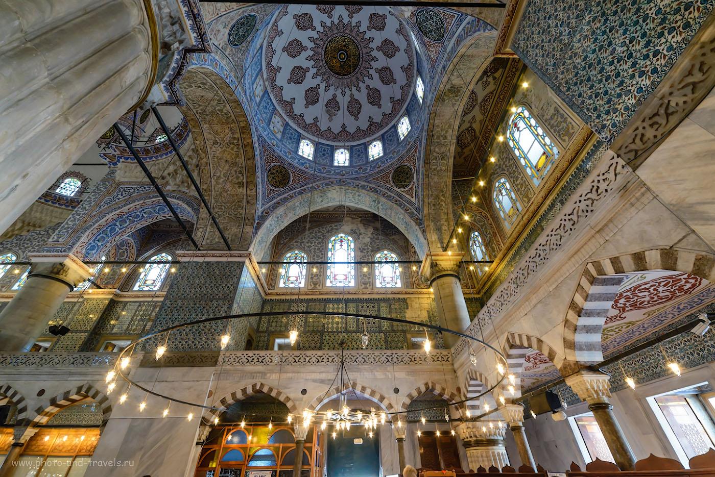 Фотография 8. Красота Голубой мечети. Экскурсия по Стамбулу. Отзывы туристов о поездке в Турцию. 1/30, +0.67, 5.6, 1250, 14.