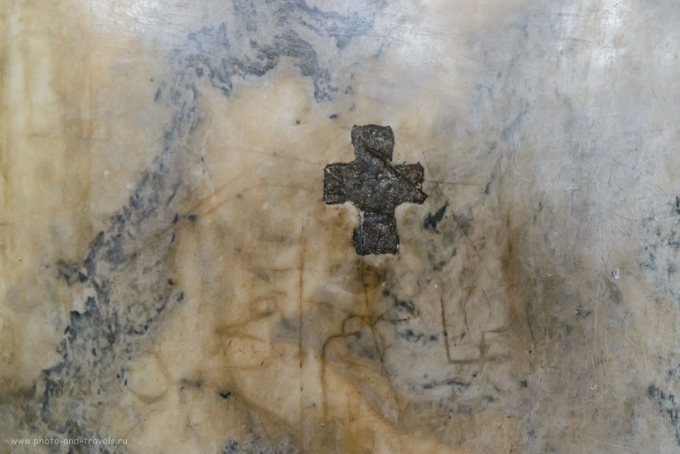 Фотография 24. Крест на стенах Айя-Софии. 1/20, +0.67, 5.6, 5000, 14.