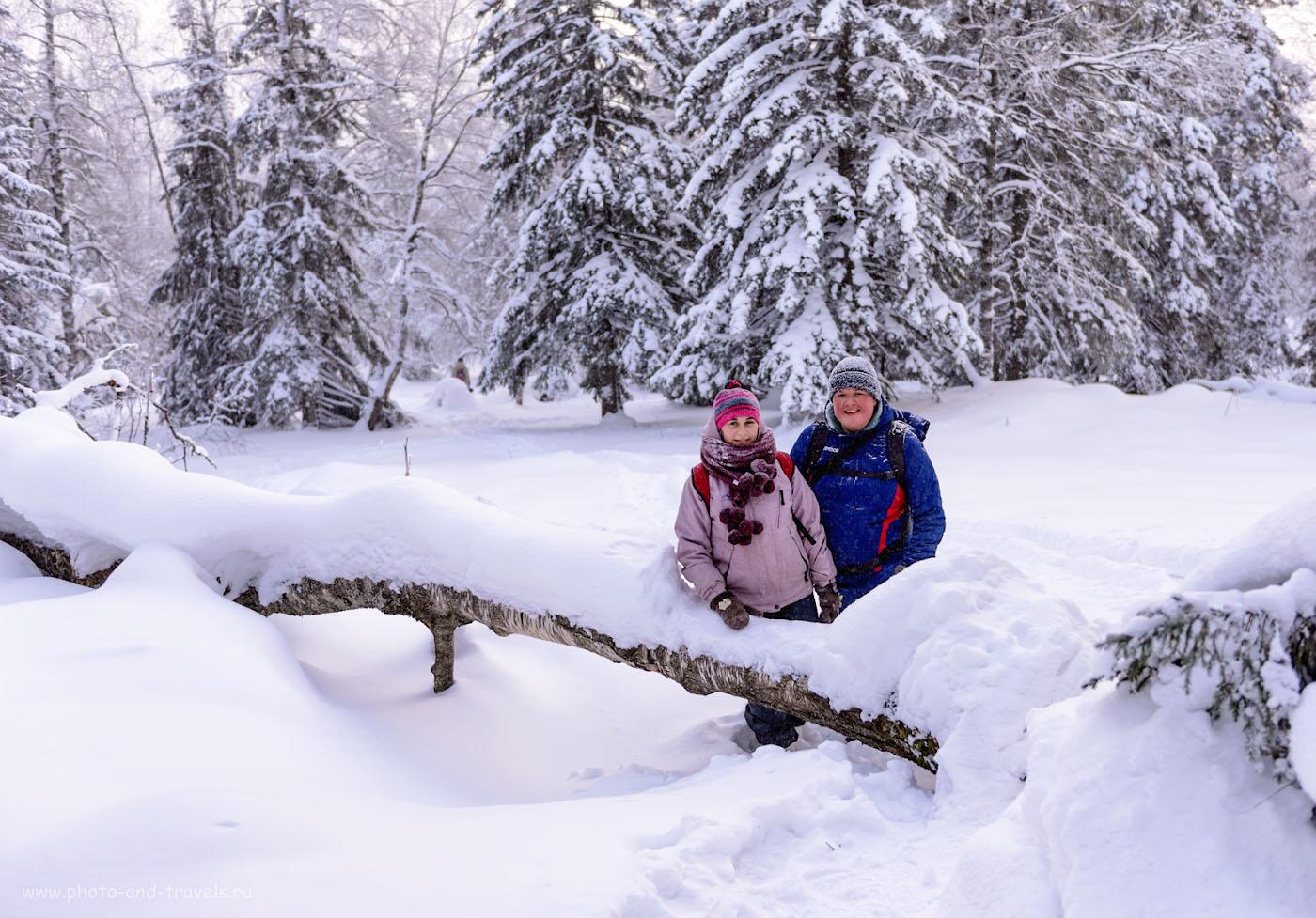 Фото 5. На пути к вершине хребта Зюраткуль. Отчет о поездке в национальный парк зимой. 1/250, 0.67, 2.8, 100, 38.