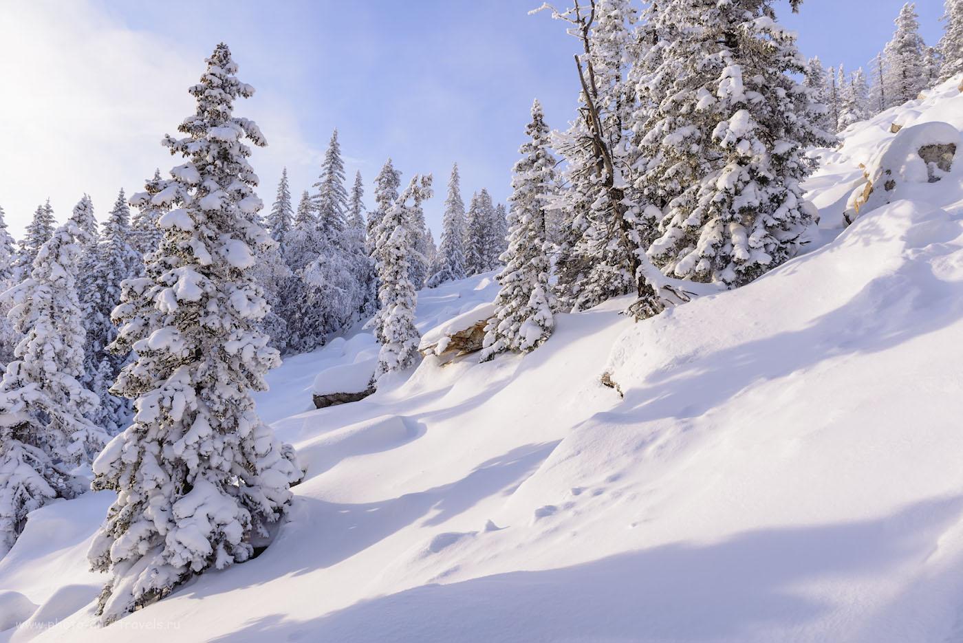Фотография 6. Как выглядят курумники на Зюраткуле зимой. Поход выходного дня по Южному Уралу. 1/160, 0.67, 9.0, 140, 24.