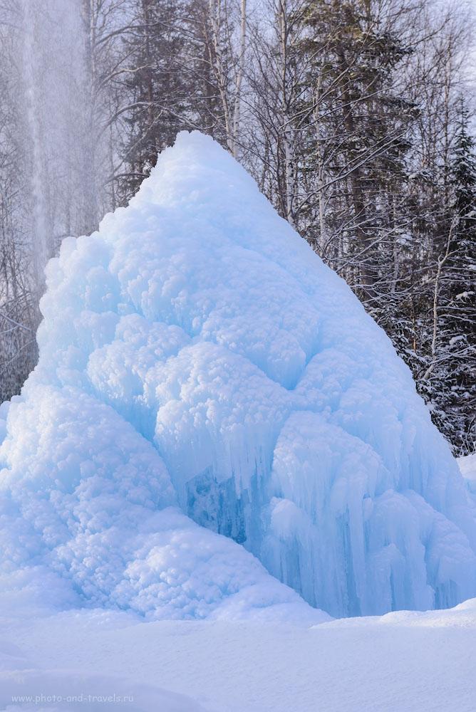 Фотография 34. В краю владений Снежной Королевы. Ледяной фонтан Зюраткуля. 1/320, +0.67, 5.6, 160, 58.