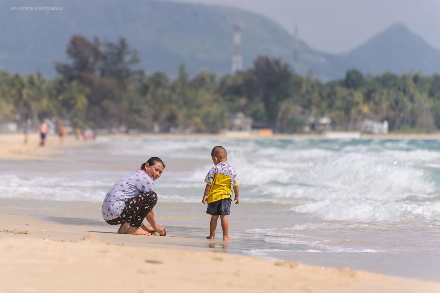 Фото 2. Съемка на том же пляже, но на телеобъектив. 1/640, 5.6, 100, 300.