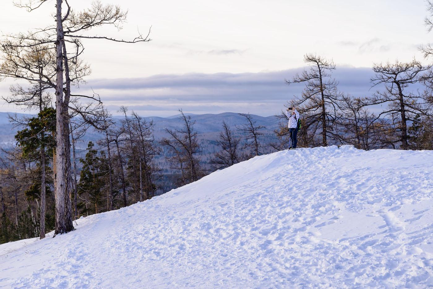 Фото 3. Съемки на вершине малого Сугомака. Фотоаппарат Nikon D610, объектив Nikon 24-70mm f/2.8. Параметры: 1/160, +0.67, 8.0, 160, 70.