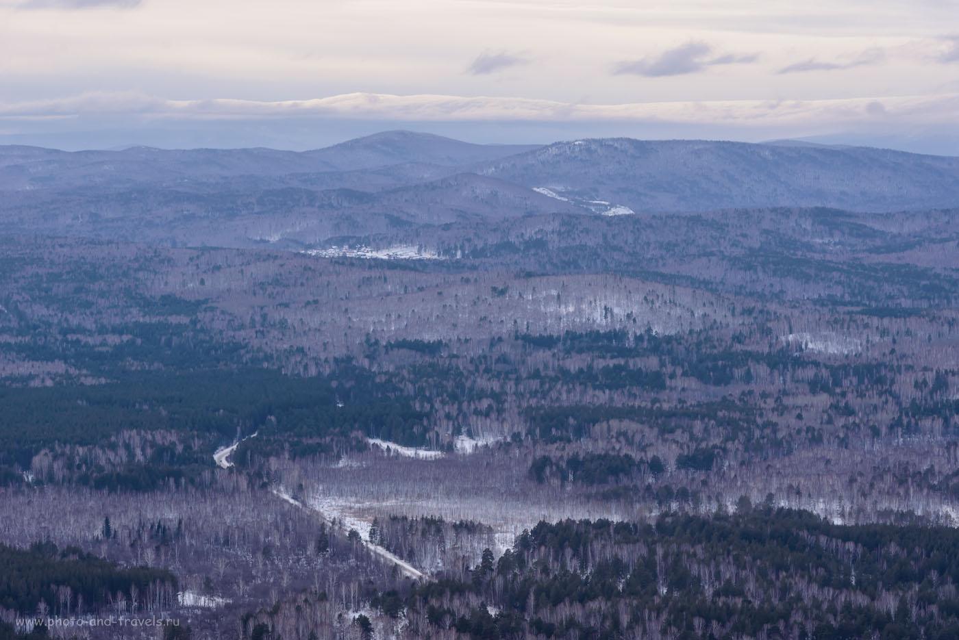Фотография 15. А эти горы, мне кажется, уже территория национального парка Таганай. 1/400, 8.0, 640, 122.