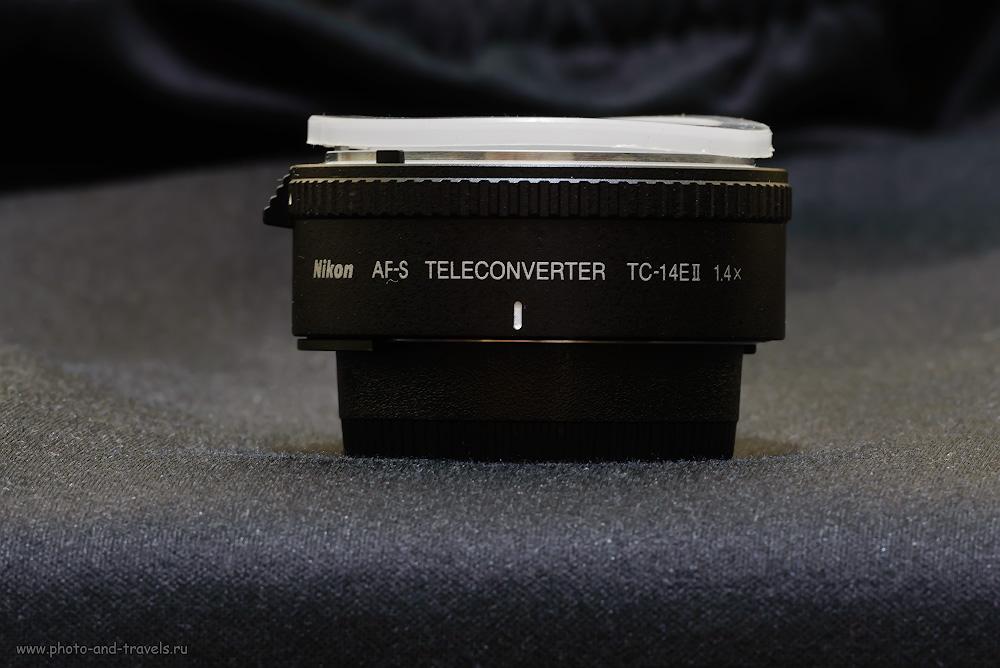 Телеконвертер Nikon TC-14E II.