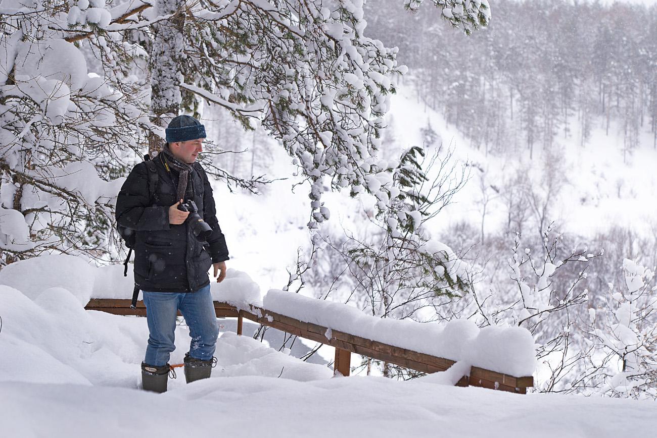 Так выглядит объектив Nikon 17-55mm f/2.8G на кропнутой тушке Nikon D5200. Снимок снят на полный кадр Nikon D610 + Nikon 70-200mm f/2.8 + телеконвертер Nikon TC-14E II. Настройки: f/5.6, 1/200 сек., ISO 250, +0.7EV, ФР=100 мм.