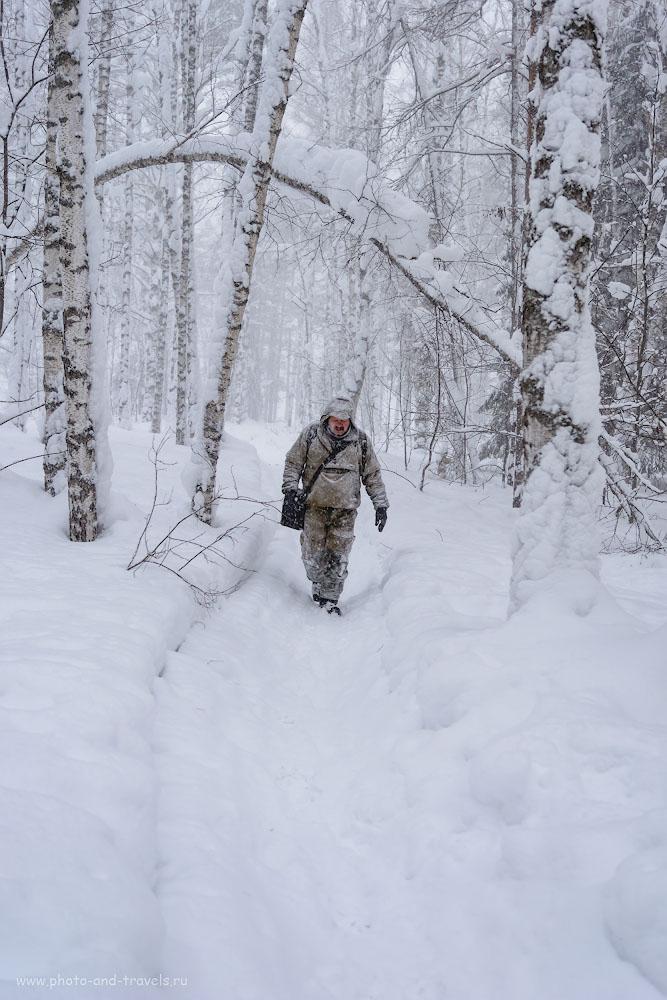 Фотография 24. Съемка на Nikon D5200 и объектив Nikon 17-55mm f/2.8 зимой требует особого подхода. Как не повредить камеру в мороз, рассказано в отдельно статье. 1/160, +0.67, 2.8, 160, 30.