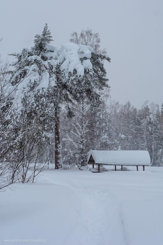 Изображение 32. Когда на Урале – ливневый снег… 1/100, 6.3, 720, 38.