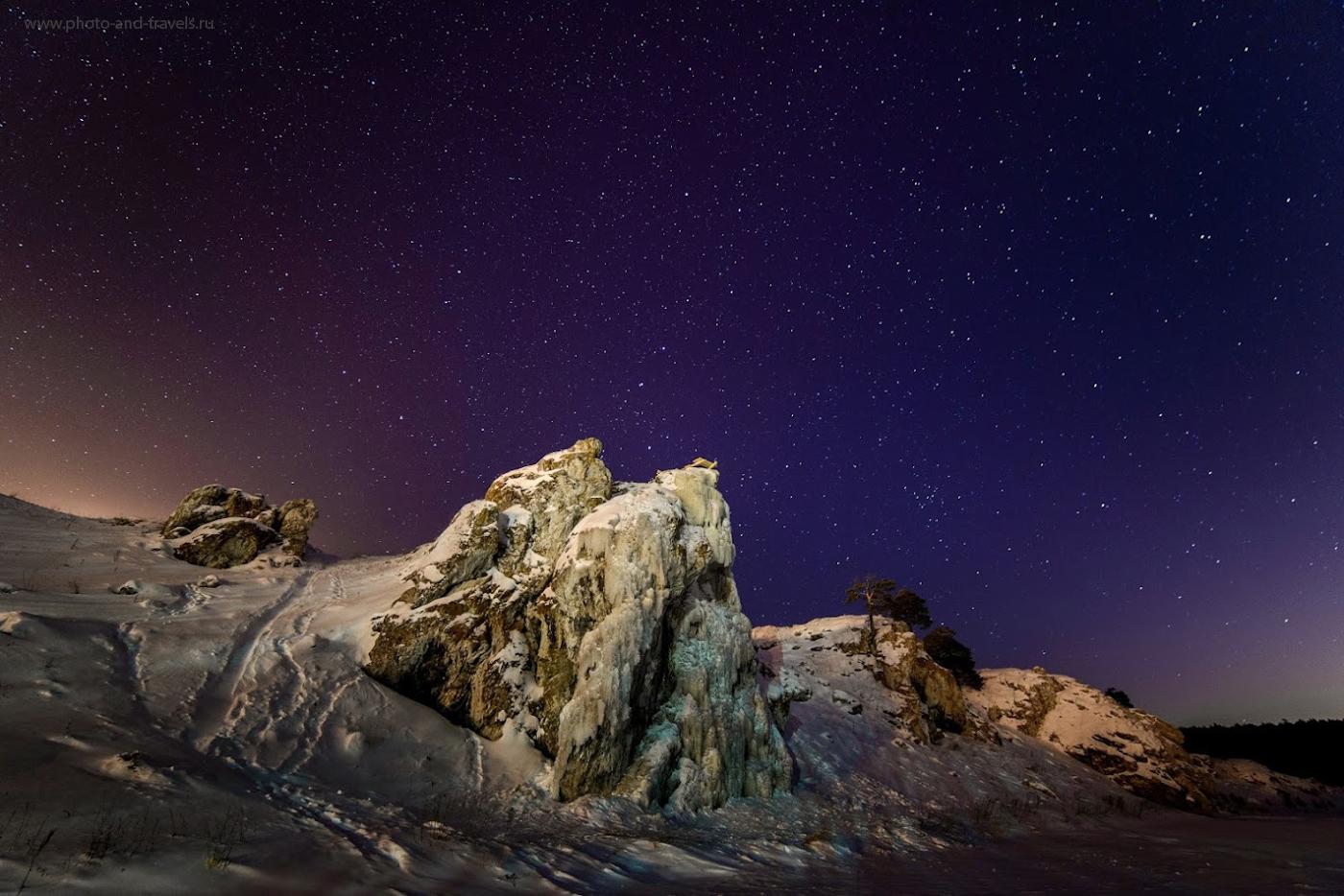 Снимок 21. Зачем нужен широкоугольный объектив с хороешей светосилой? Для съемки звезд.