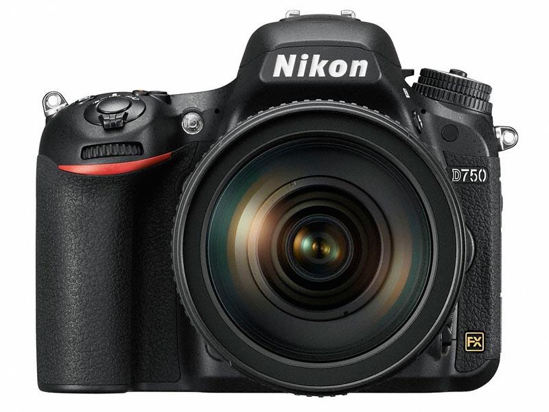 Фото 1. Камера Nikon D750