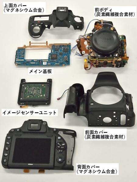 Рисунок 6: Сравнение традиционного исполнения дизайна корпуса зеркалки Nikon и «моноблочного».
