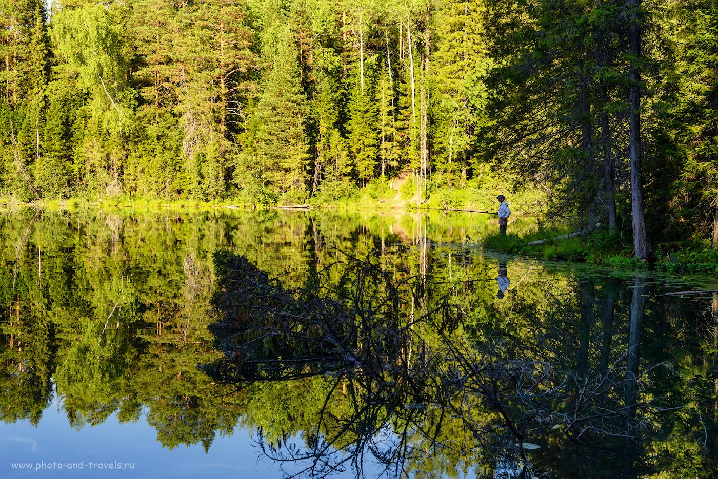 Снимок 26. Рыбалка на Бездонном озере. 1/100, -0.67, 8.0, 250, 48.