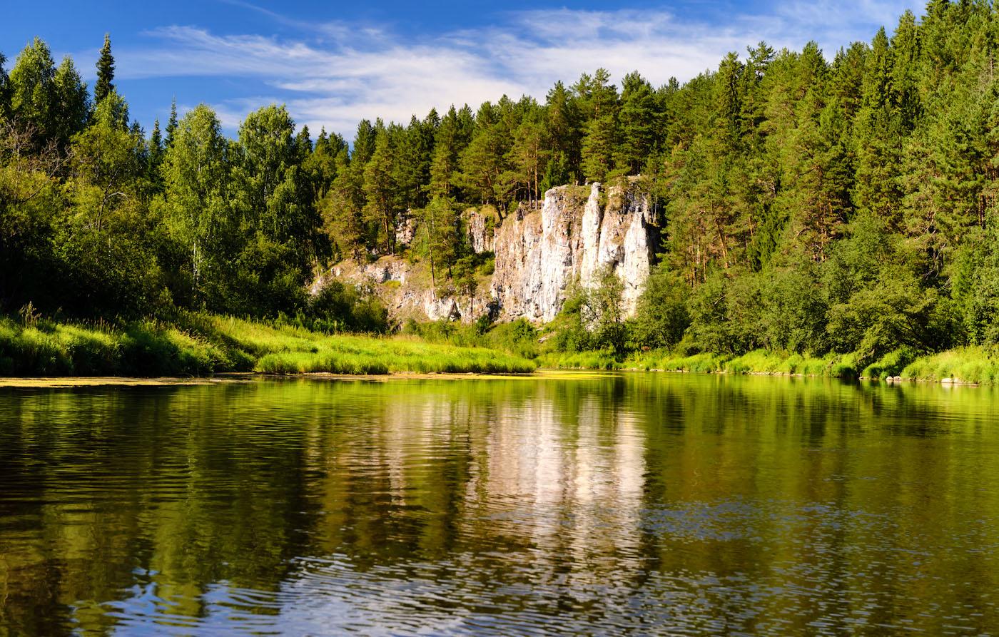 Фотография 5. Река Чусовая и Георгиевский камень. Куда поехать на выходные из Екатеринбурга.