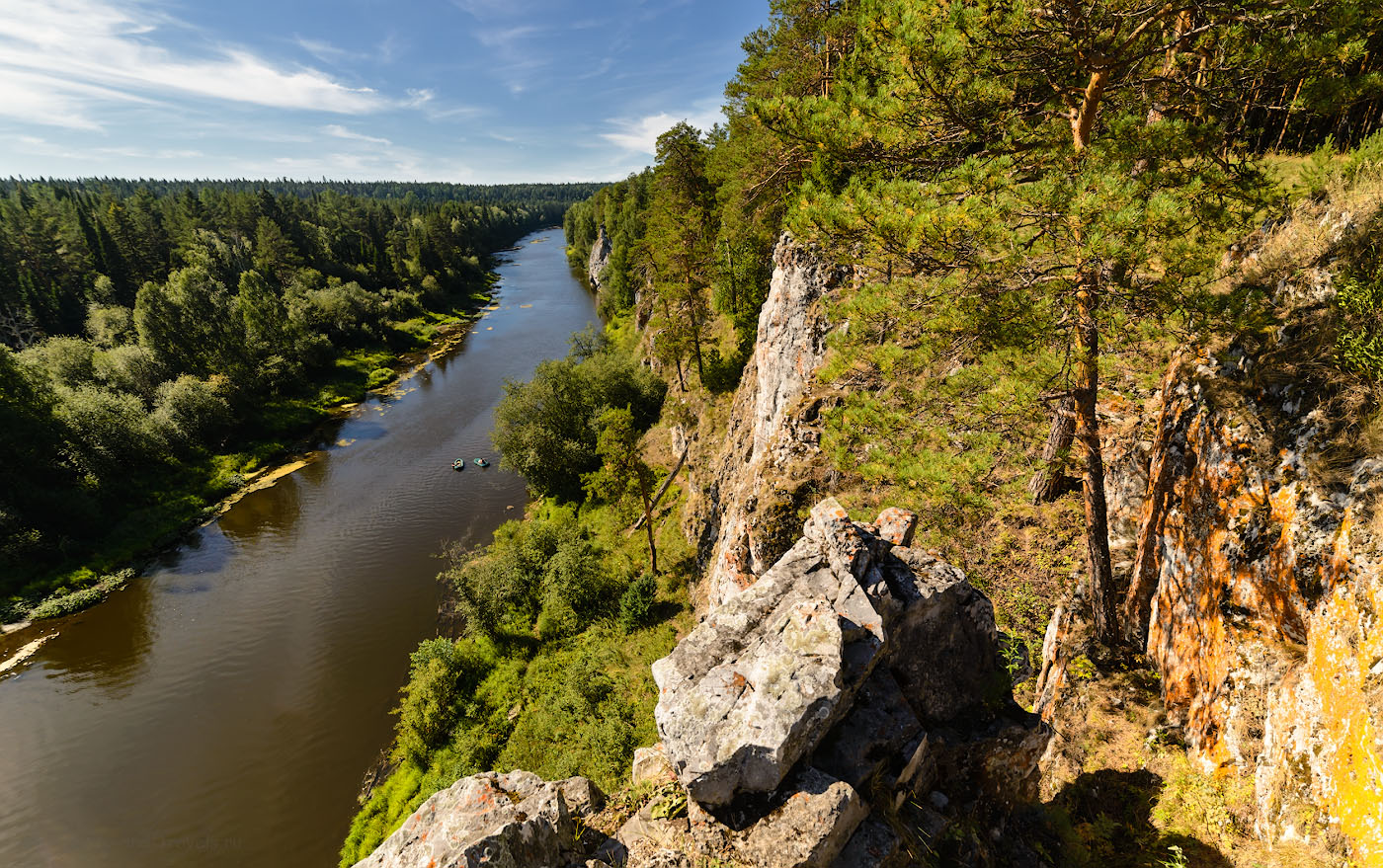 Фотография 8. Сплав по реке Чусовая в окрестностях села Слобода.