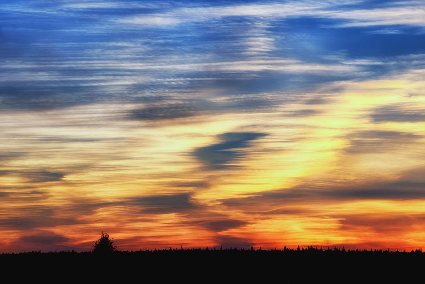 Фото 28. Небо над слободой.