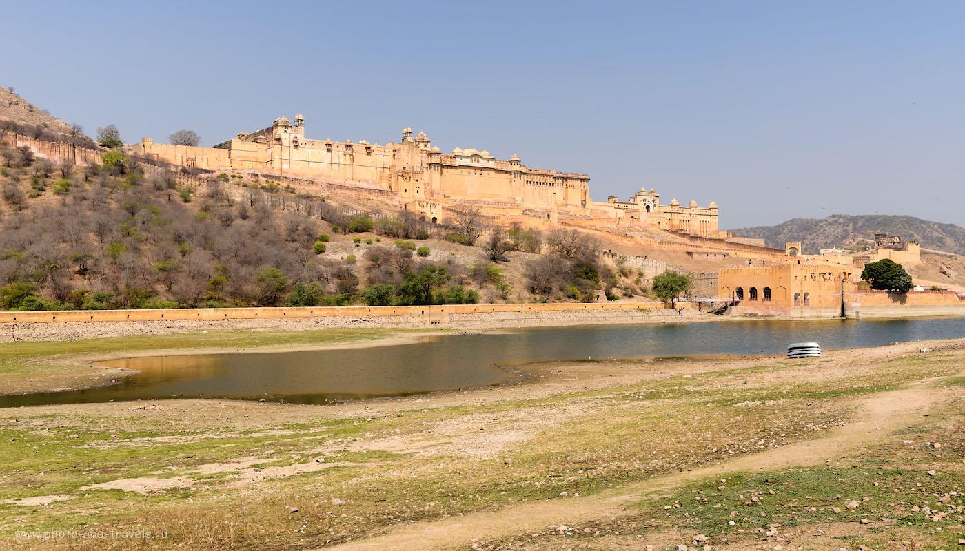 Фото 5. Великолепный форт Амбер в Джайпуре. Рассказы туристов о поездке и Индию дикарями. 1/320, 8.0, 100, 35.