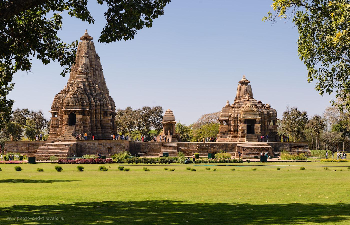 Фотография 15. Храмы с эротическими скульптурами в Кхаджурахо. Отчет о поездке в Индию самостоятельно. 1/200, -0.33, 9.0, 100, 70.