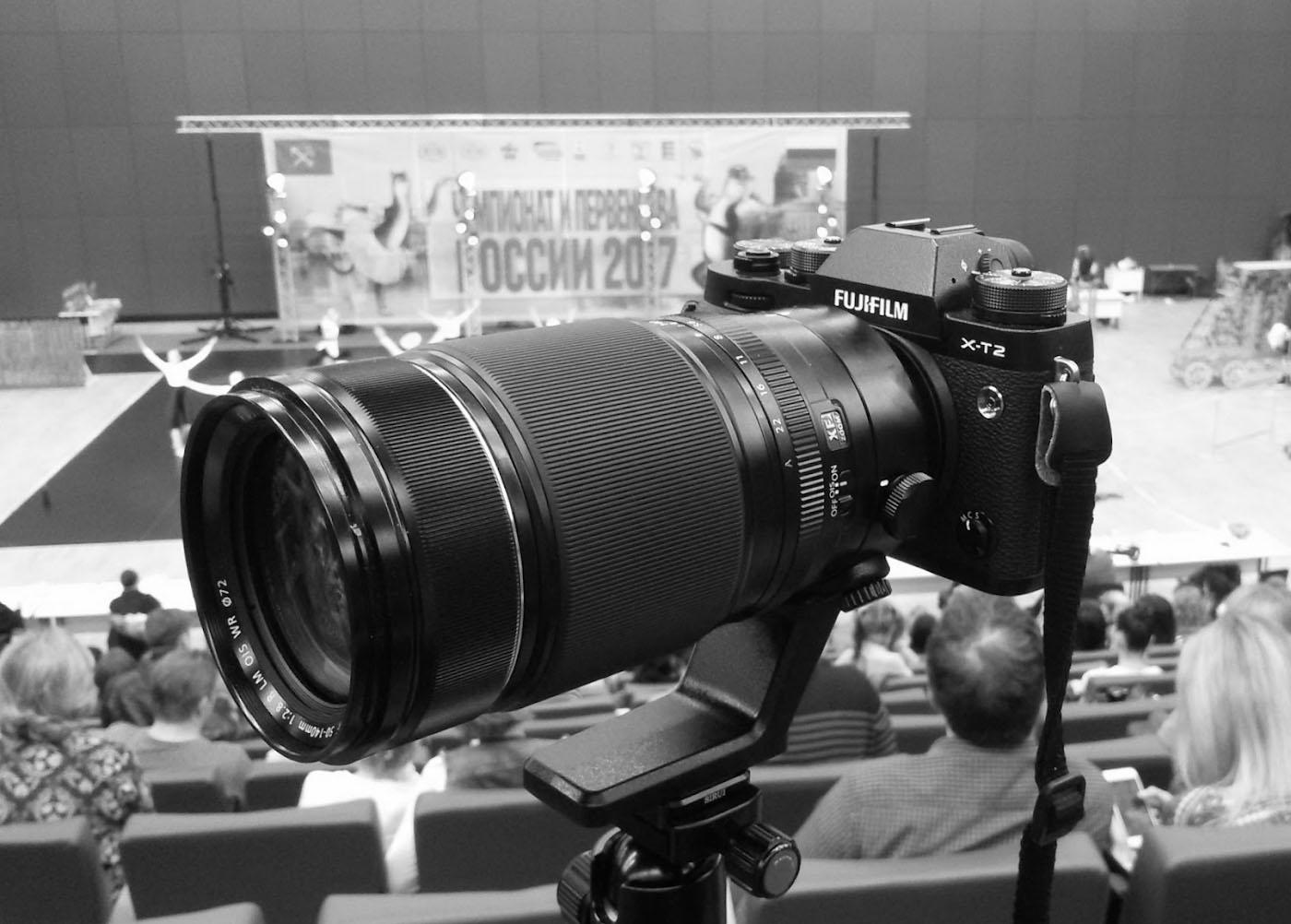 1. Камера Fujifilm X-T2 с телеобъективом Fujifilm XF 50-140mm f/2.8. Обзор и примеры фотографий.