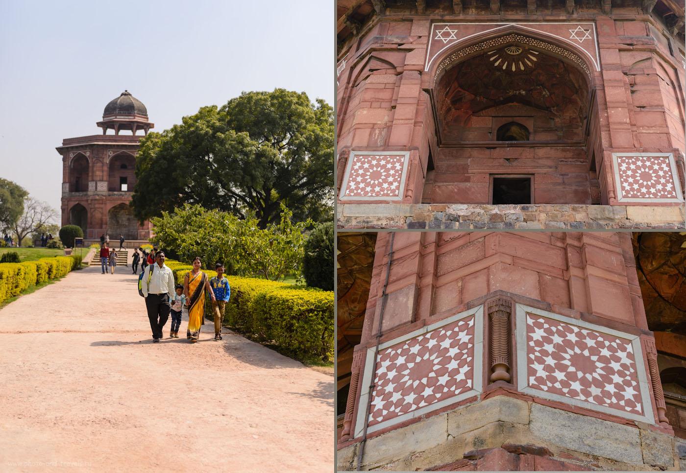 Фото 12. Обсерватория Шер-мандал (Sher Mandal) построена по приказу Бабура. Отзывы о поездке в Индию дикарями.