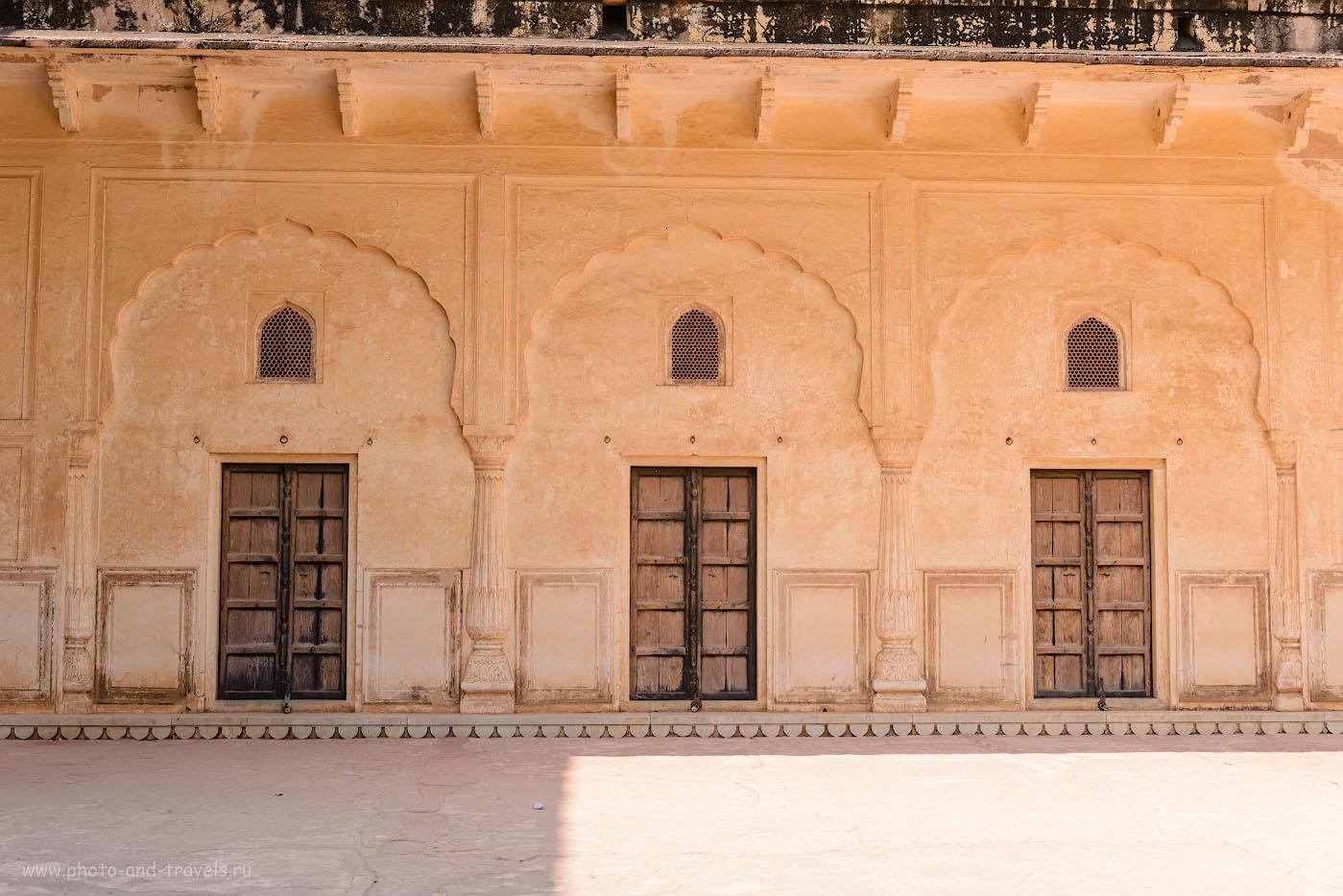 Фото 19. Строения на территории форта Джейгар. Отзыв об экскурсии в Джайпур. 1/125, +1.0, 8.0, 100, 42.