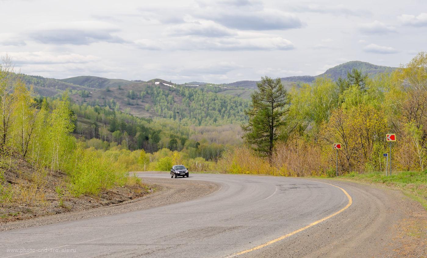 Снимок 8. Живописные пейзажи в Башкирии. Отзыв о поездке выходного дня на машине. 1/250, -0.67, 8.0, 100, 55.