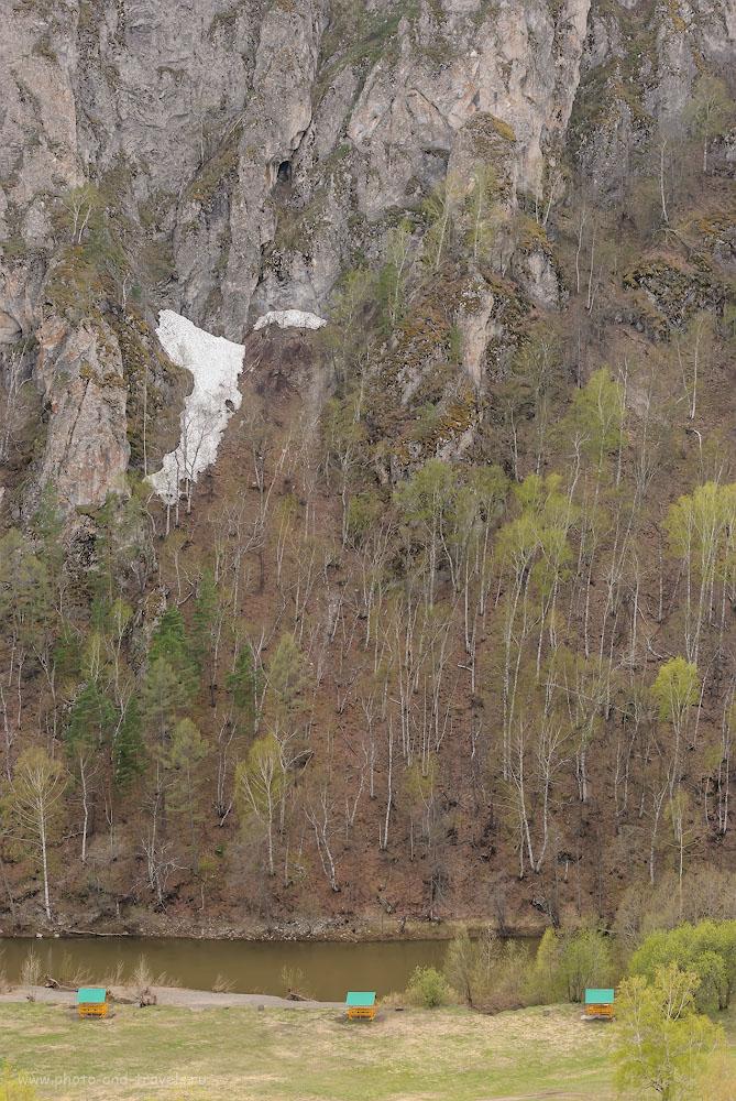 Фото 14. Так выглядят впечатляющие скалы Мурадымовского ущелья. Отзыв об отдыхе в Башкирии. 1/160, -0.33, 8.0, 320, 70.