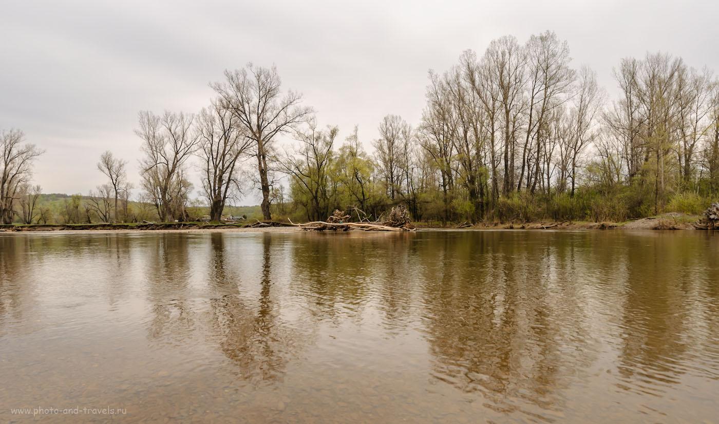 Фото 26. Весной горные реки в Башкирии очень полноводны и живописны. 1/200, -1.0, 8.0, 100, 14.