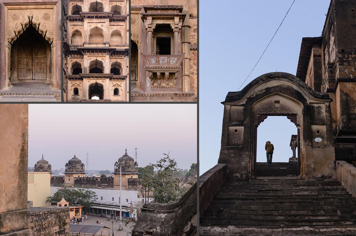 Фото 11. Храм Чатурбхудж Мандир. Отзыв о поездке в Орчху в феврале.