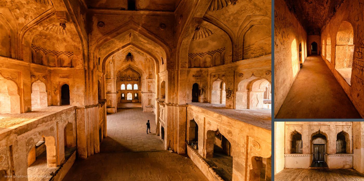 Фото 20. Особый шарм храму Чатурбхудж Мандир и дворцу ДжахангирМахал придает то, что выглядят они почти неотреставрированными, древними, как сама история. Отзывы об экскурсии в Орчху.