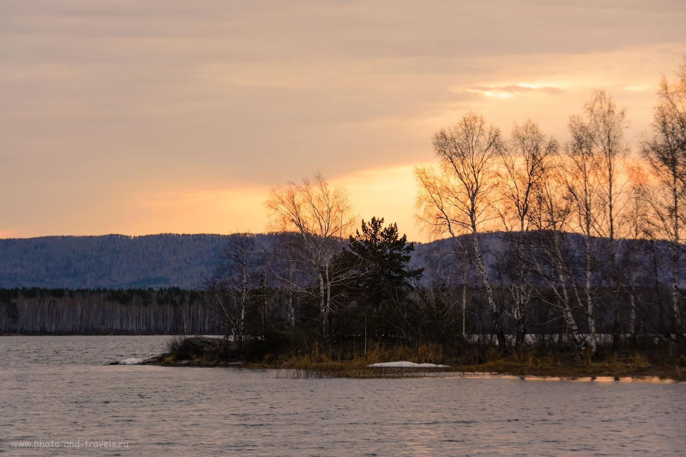 Фотография 21. Вечерний пейзаж, снятый на Nikon D5200 и тревел-зум Sigma 18-200. 1/13, -0.67, 8.0, 100, 98.