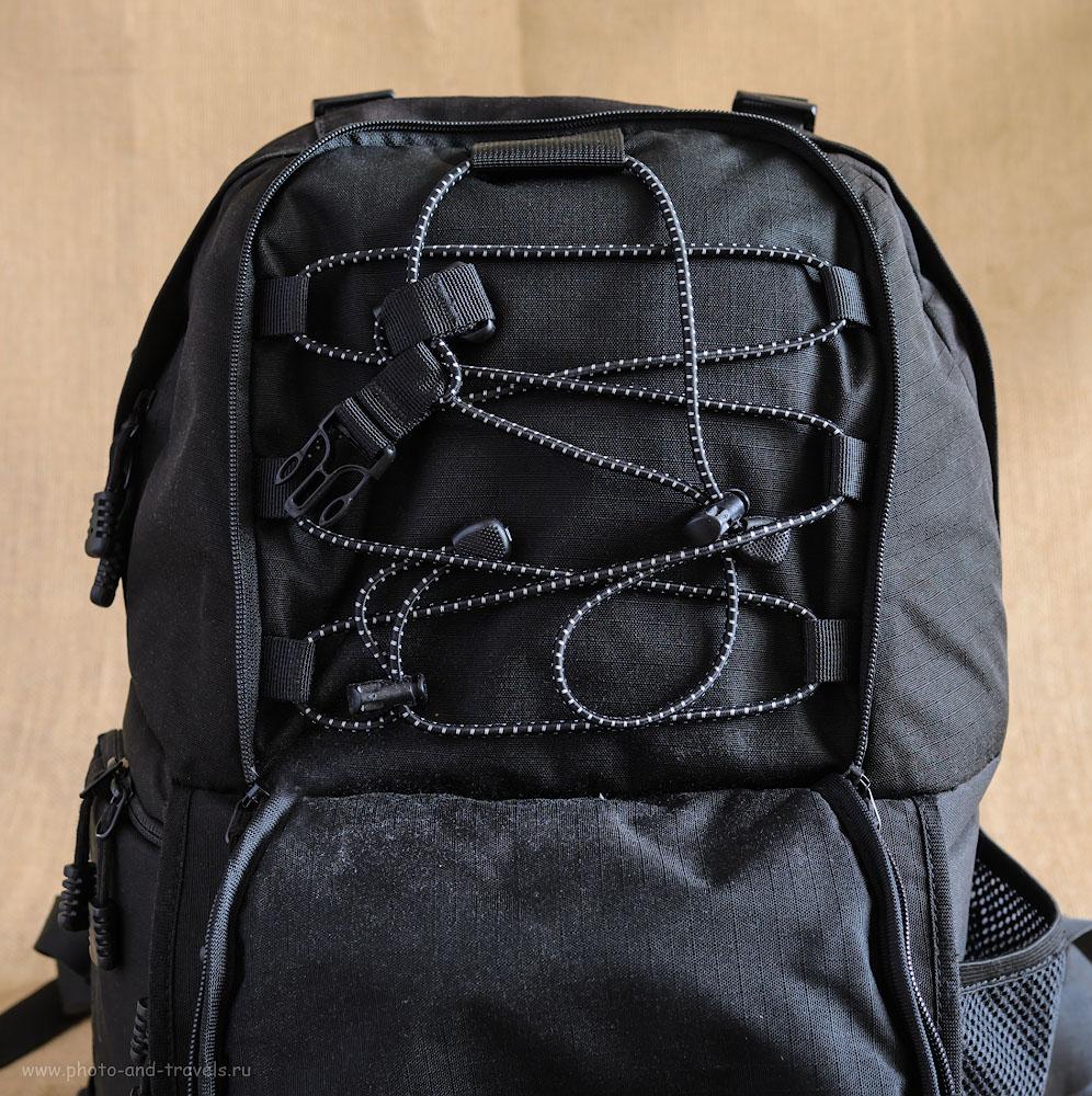 Фотография 13. Фоторюкзак AinoGirl A2163 позволяет переносить крупный штатив на спине фотографа.