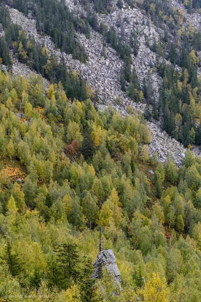 Фото 9. Курумники на склоне Бараньих лбов. 1/160, -0.67, 8.0, 1000, 70.