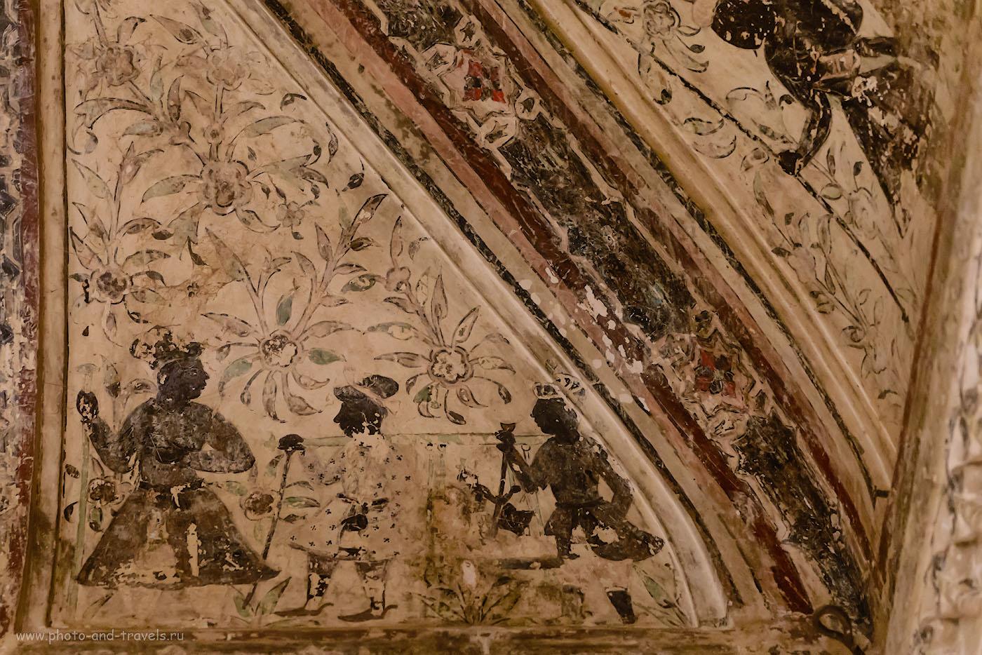Фотография 7. Фрески эти написаны в период эпохи возрождения. Как видим, художникам из Орчхи было далеко до Микеланджело, разукрасившего Сикстинскую капеллу.