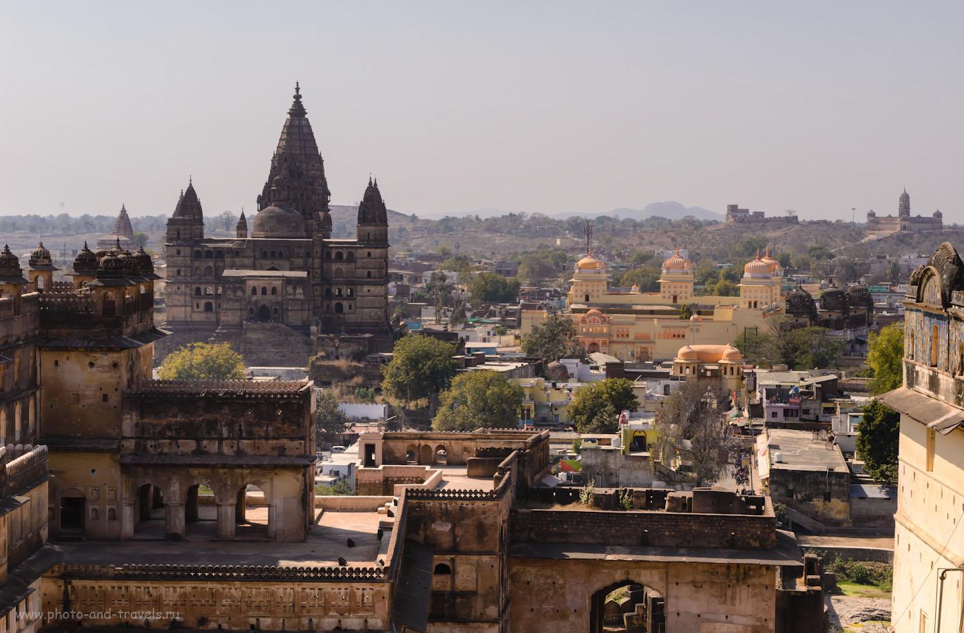 Фото 14. Даже жалко, что храм Рам Раджа Мандир отштукатурен - весь шарм средневекового города Орчха уничтожили.