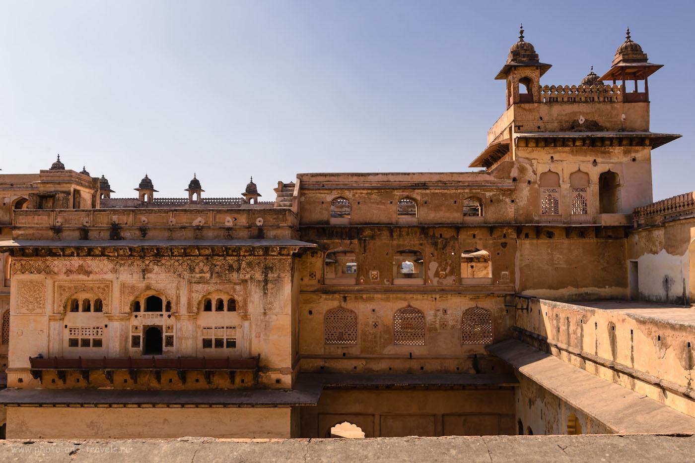 Снимок 17. Дворец Радж-Махал выглядит попроще.