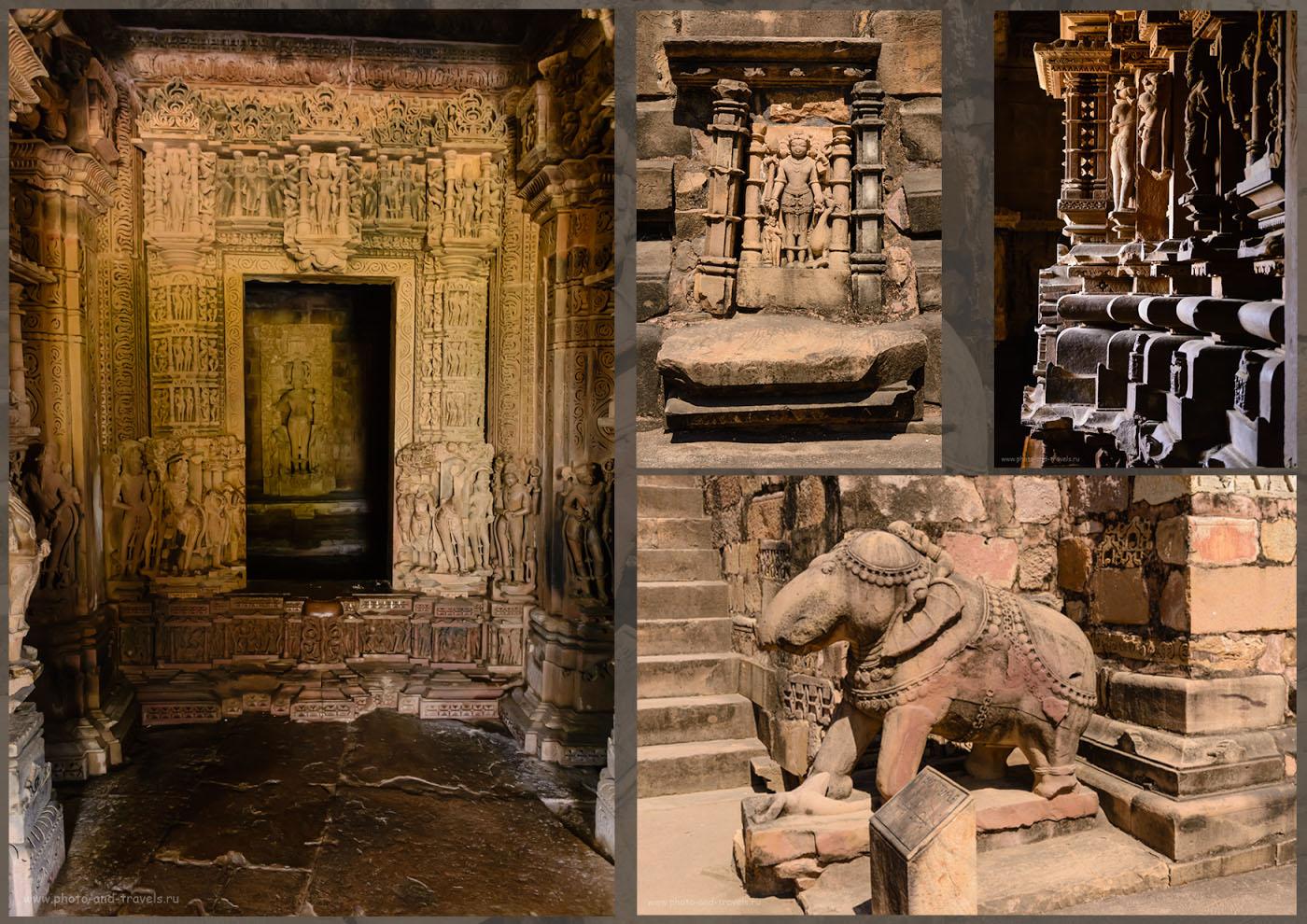Снимок 4. Отчет о посещении храмов Кхаджурахо в штатье Мадхья-Прадеш во время путешествия по Индии самостоятельно.